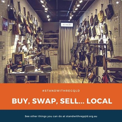 Buy, swap and sell local
