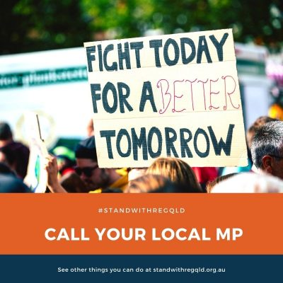 Call your local MP about regional issues