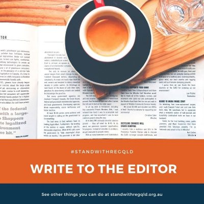 Write to the editor